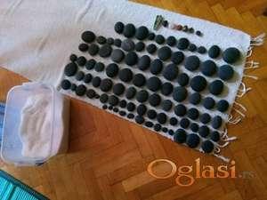 Toplo vulkansko kamenje za masažu,original!