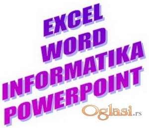 EXCEL, INFORMATIKA, WORD, POWERPOINT, WINDOWS