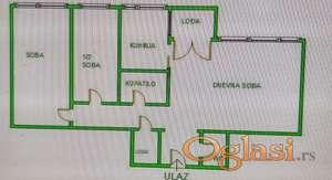 Centar - Socijalno Stan za kompletno renoviranje, moze biti 3.5... 1250Eur/m2 !