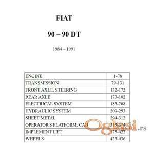 Fiat 90-90 DT Katalog delova