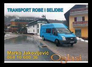 Selidbe i transport robe