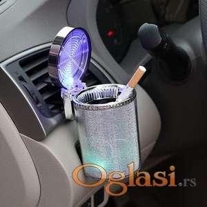 Pepeljara za Auto sa LED Svetlom