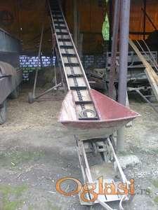 Utovarivač - elevator za kukuruz 9m