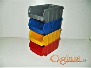 Plastične kutije-kontejneri tip B set 20 kom