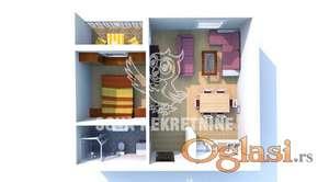Dvosoban stan u novogradnji  Subotica ID#1239