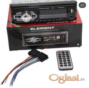 Auto radio ELEMENT bluetooth mp3-usb-sd 4x50w auto