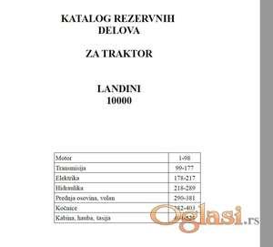 Landini 10000 - Katalog delova