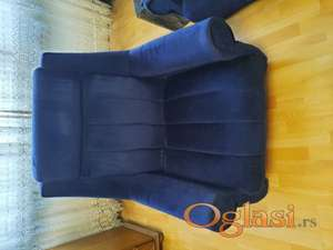 fotelje 2 kom + 2 lezaja