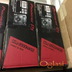 2 Pioneer CDJ-2000NXS2 Professional Multi Player Nexus