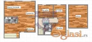 LUX URBANA VILA! Tri dupex stana u izgradnji