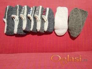Vunene čarape i pape
