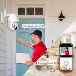 PTZ IP WiFi kamera