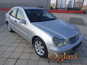 Mercedes C200 ocarinjen danas na ime kupca sa AMSS 2.500e fixno Šabac