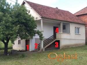 Prodajem odmah useljivu kuću u Rekovcu(može i zamena)