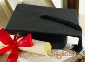 Diplomski rad, Seminarski, Esej, Prevod