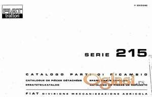 Fiat 215 - katalog delova