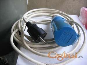 dodatni kabal za kamp prikolicu za napon struje 220v