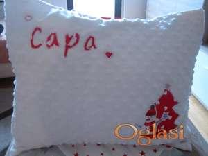 Minky personalizovani jastuk