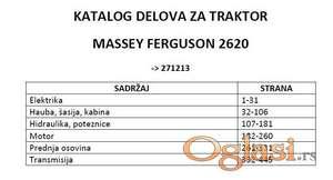 Massey Ferguson 2620 - Katalog delova