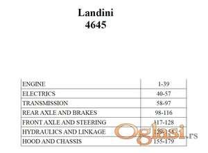 Landini 4645 - Katalog delova