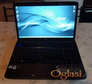Acer Aspire 7738G, 17'3 inca, 4gb ram, 320gb hard, 2x2.20Ghz, kamera, hdmi