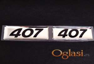 peugeot 407 stiker