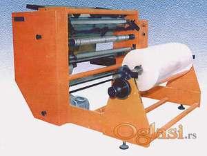 Mašina za uzdužno rezanje papira filmova i sličnih materijala