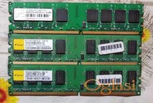 Ram memorije DDR,2 -4GB (1+1+2) 2000din. i DDR1 1GB+512mb 500din