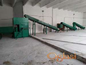 Pelet mašina - kapacitet proizvodnje 1t/h