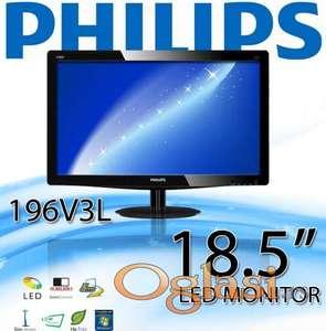 18.LED monitor PHILIPS 19 inca (48cm) FULL HD, vga, DVI