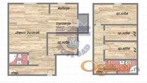 Petosoban stan, vrhunski kvalitet gradnje 021/632-2111