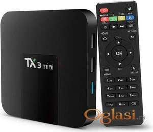 TX3 Smart Android 7.1 TV box PRO MINI