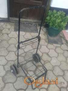 Rucna kolica za prevoz prtljaga ili torbe 3000 dinara