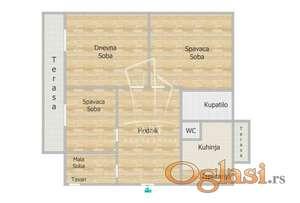 Horizontala kuće - Kumodraška 93m2+ 3 ara ID#2982