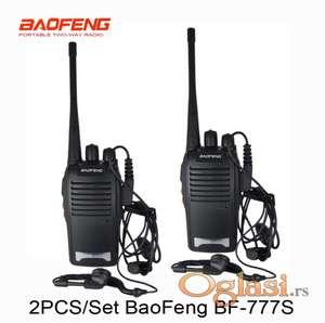 Toki voki 2 komada bf-777s baofeng radio stanice +🎁poklon slusalice X 2