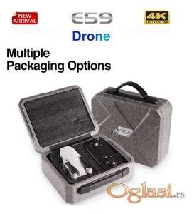Cooligg E59  Drone 2 HD TVRDI KOFER Selfie FPV Wifi 4K White