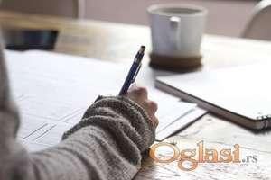 Rad sa osnovcima, pomoć prilikom učenja i prilikom izrade domaćih zadataka