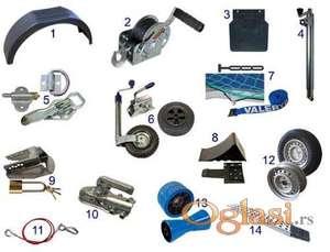 Signelne sijalice, šape, čkrk, rampe, blatobrani