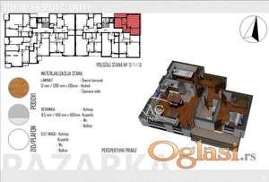 Na prodaju stan u Novom Pazaru-TOP ID#1181