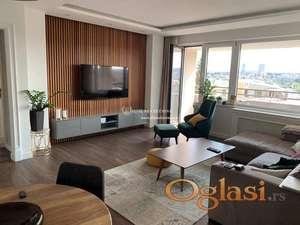 Izdavanje stanova Beograd- Vračar- Četvorosoban lux stan u novogradnji, garaža