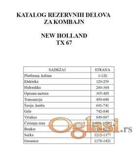 New Holland TX 67 - Katalog delova