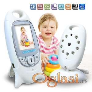 Nov bežični VIDEO bebi alarm sa noćnom kamerom