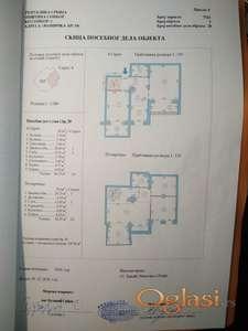 Dupleks, nov, 130m2, namešten, 577 EUR/m2, Sombor