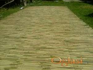 Trska pletena, proizvodi od trske stukatur i trscana izolacija