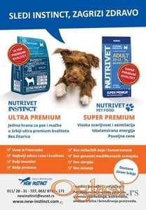 Promo popust -5%, hrana za pse Nutrivet Instinct