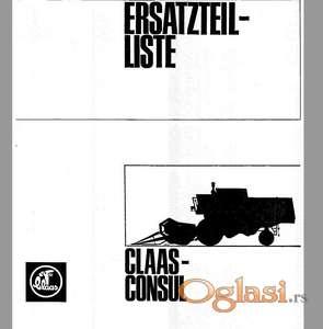 Claas Consul - Katalog delova
