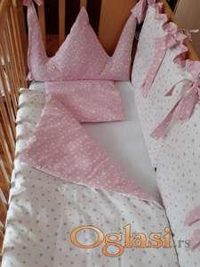 Posteljina za sve dimenzije decijih kreveta