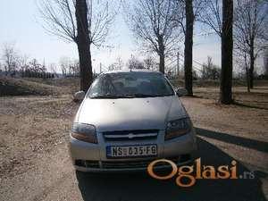 Novi Sad Chevrolet Kalos 2005, 66000 km