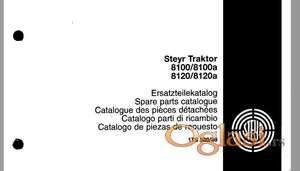 Steyr 8100/8100A - 8120/8120A - Katalog delova
