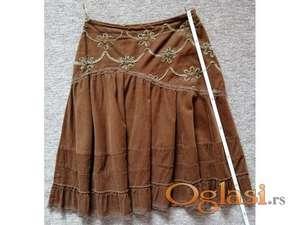 ORSAY nova prelepa braon suknja